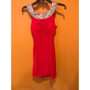 Red Sherri Hill Cocktail Dress WORN ONCE